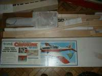 "DE HAVILLAND CHIPMUNK KIT BY DYNAFLITE WING SPAN 89"" PH"