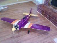 RC Mustang Airplane with 90 size Super Tiger. I can be