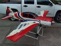 rc airplane yak 54 magic hand 107 inch wing span 100cc