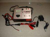 two 7.2/ 8.4 volt battery chager one is a field charger
