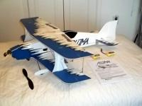 This great RC Pluma Bi-plane by Great Planes prepares