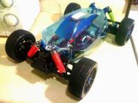 1/8 OFNA 4WD BUGGY CONVERTED TO BRUSHLESS . COMES WITH