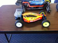 RC Buggy Team Associated B4.1, Totaly upgraded, ready