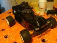 This Team Associated RC 10 T4 truck has aluminum