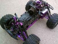 HPI Savage X 4.6 $300 or best offer has lots of