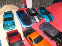 custom painted very nice rc car bodys $20.00 each,i