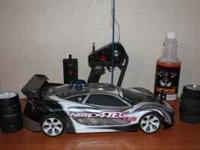 This is a Traxxas Nitro 4-Tec in great condition and