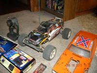 Traxxas Rustler XL-5. Great running car! Just put a new