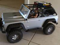 I have remote control toys and tools. Rock crawlers,