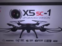 RC Drone with 2.0 MP HD Camera 2.4 4CH 6 Axis