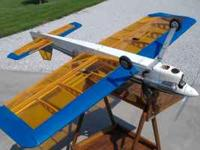 Excite 90 Airplane. Has JR 2721 elevator, aileron, and
