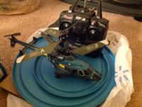 RC helicopter (can fly both in indoor and outdoor,