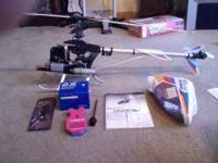 New never used Hirobo Shuttle plus +2 helicopter. Also