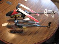 2 choppers and a couple remotes I had actually