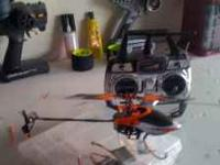 Novus cp pro 3d , all converted brushless, 4 lipo