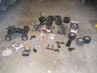 i have RC parts and parts cars for sale. I have a TMaxx