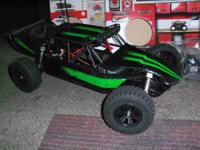Got a New REDCAT 1/8 Mirage sandrail Brushless 4WD,