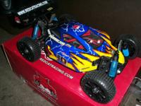New RC 1/8 Cyclone buggy runs in 4S (14.8 v) lipo