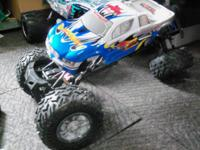 RTR, Rockslide 1/8 Scale Super Crawler 2.4 GHz, 3ch