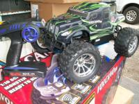 Got for sale New Red Cat Volcano S30 nitro truck 4x4 ,