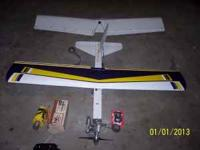 I HAVE A LARGE USED RC NITRO TRAINER PLANE FOR SALE.