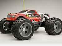 TOWER HOBBIES TOWER TERROR NITRO TRUCK, 1/10 SCALE,