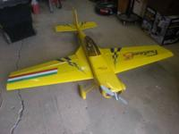 Big scale RC Funtana Sport airplane, everything