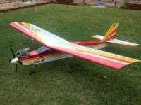 For sale I have a Hangar 9 Alpha 40 gas powered RC