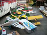 I have a whole bunch of RC planes to sell. Most have