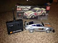 I'm selling a used radio controlled Porsche 930 turbo.