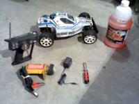 RC Race Car-Kyosho Burns See attached pictures. Asking
