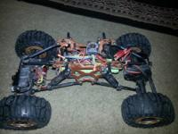 four wheel steer rc crawler everything works great