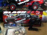This is a brand new Traxxas slash 4x4 vxl brushless .