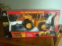RC tractor new still in box. Was a gift for a birthday