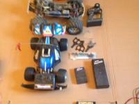 Traxxas TQ3 Top Qualifier 4x4 nitro powered truck. 2