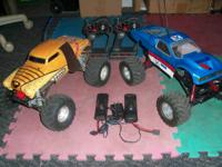 Got 2 traxxas Stampede for sale  both stock brushed