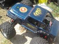 I have a Traxxas TMAXX monster truck. 3.3