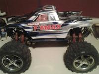 Got traxxas 3.3 tmaxx. All complete ready to race.
