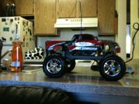 2 RC Trucks 1- Traxxas Stampede, 3 months old, lots of