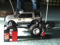 rc truck awesome runs very fast comes with truck two