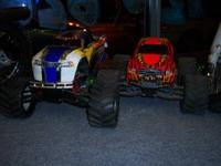 GAS POWERED RC Trucks for sale Too many upgraded parts