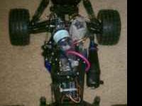 real fast gas rc its was runing perfect just need a new