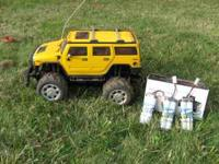 RC Hummer w/ 3 Extra Rechargeable Batteries & Charger *