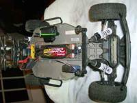 For Sale Traxxas Slash 2x4 with Amsoil Body Lots of