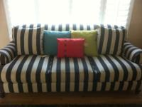 You will love this couch! It is in VERY good shape. Got