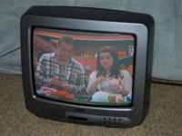 "RCA 13"" COLOR TV Works beautifully. Don't give up on"