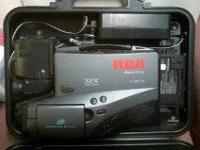 I HAVE AN RCA CAMCORDER FOR SALE. NEEDS A NEW BATTERY.