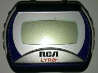 This RCA media player is in Good condition, stores and