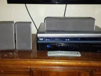 selling my rca surround sound system the dvd player it
