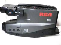 i am offering my RCA vhs camera recorder with color